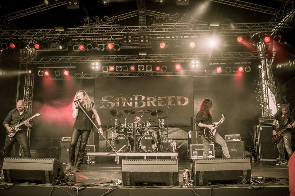 sinbreed live