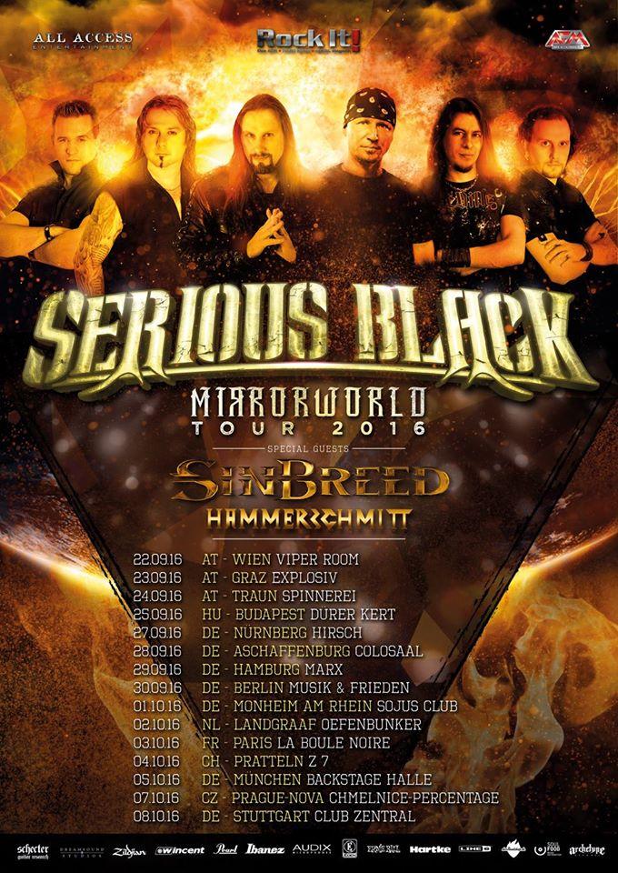 sinbreed tour poster